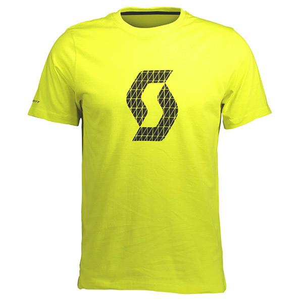 SCOTT(スコット)ICON FACTORY TEAM(アイコン ファクトリーチーム)Tシャツ(イエロー)