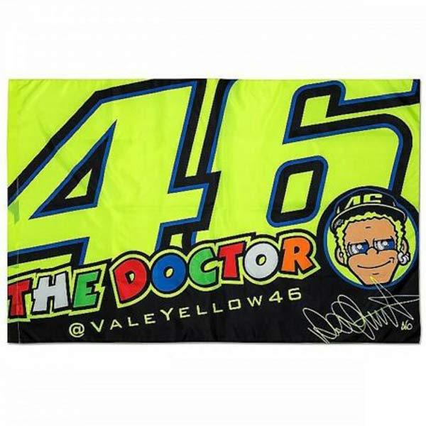 Valentino Rossi(バレンティーノロッシ)VR46 FLAG(フラッグ)
