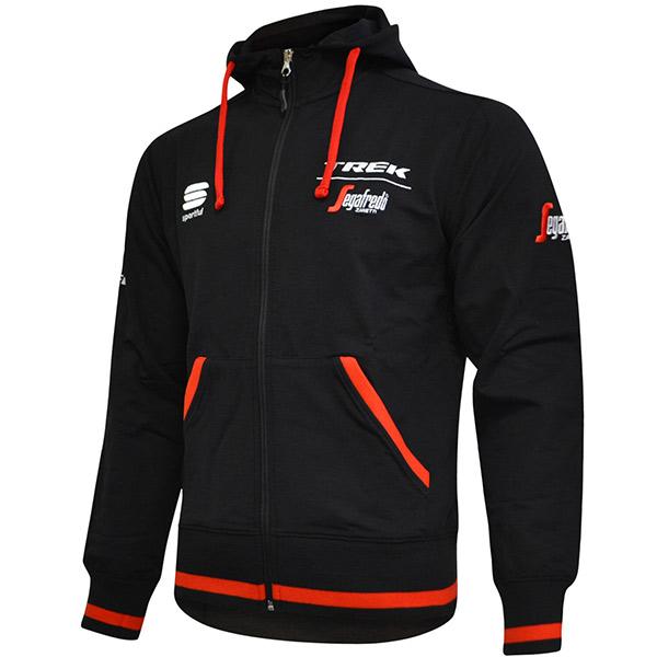 SPORTFUL(スポーツフル)TREK SEGAFREDO(トレック セガフレード)スウェットシャツ(ブラック)