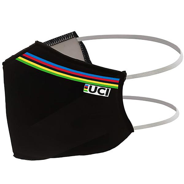 Santini(サンティーニ)UCI FACE COVER(ユーシーアイ フェイスマスク)(ブラック)