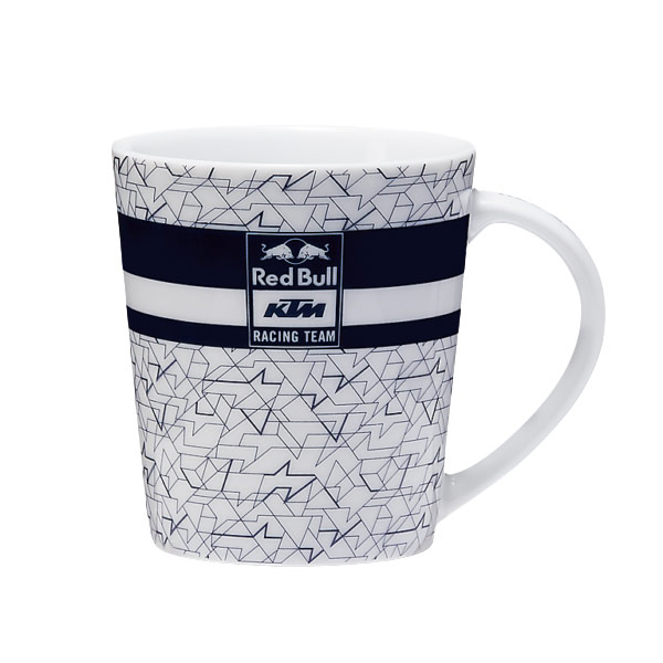 RED BULL(レッドブル)KTM(ケーティーエム)レーシングチーム Mosaic Mug(モザイク マグカップ)