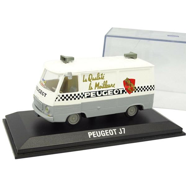 NOREV(ノレブ)Peugeot(プジョー)J7 Tour de France(ツールドフランス)1966 サポート ミニカー