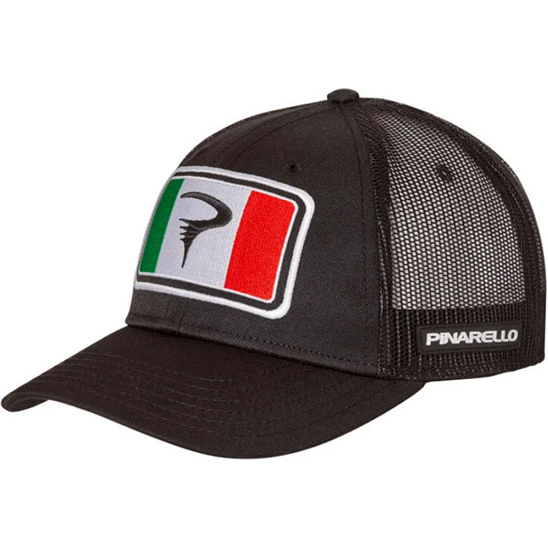 PINARELLO(ピナレロ)TRUCKER(トラッカー)キャップ(ブラック)