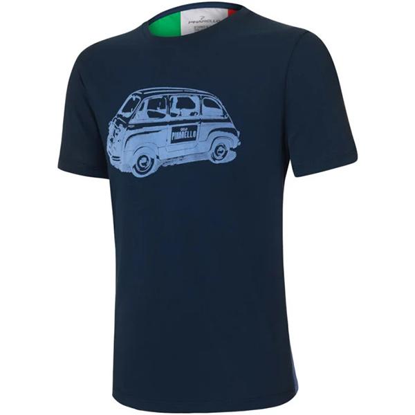 PINARELLO(ピナレロ)MULTIPLA(マルチプラ)Tシャツ(ネイビーブルー)