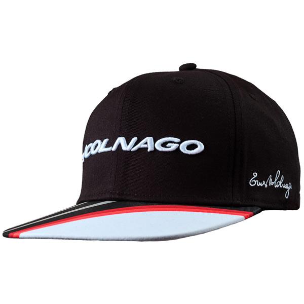 COLNAGO(コルナゴ)ベースボールキャップ(ブラック/レッド)