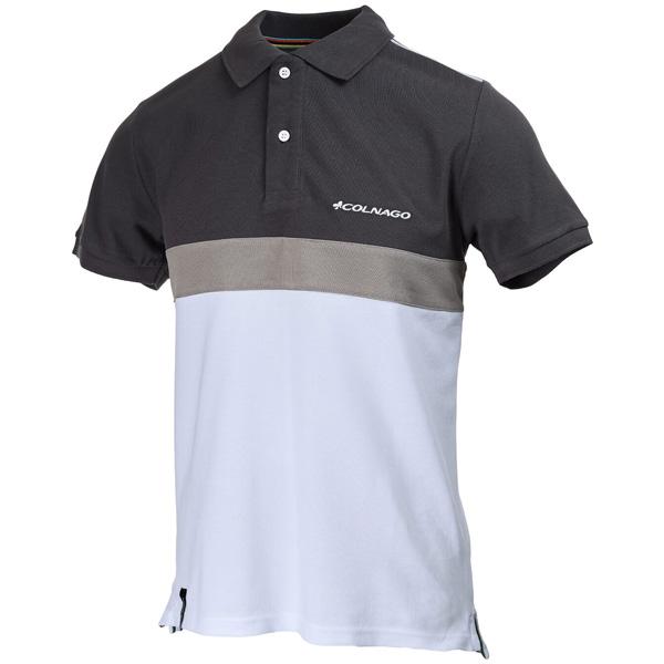 COLNAGO(コルナゴ)ポロシャツ(グレー/ホワイト)