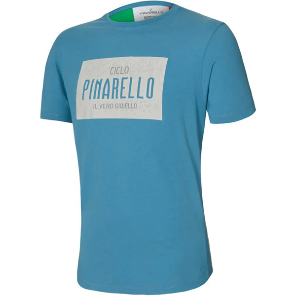 PINARELLO(ピナレロ)HERITAGE(ヘリテージ)Tシャツ(ライトブルー)