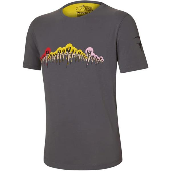 PINARELLO(ピナレロ)GTW 28 Tシャツ(グレー)