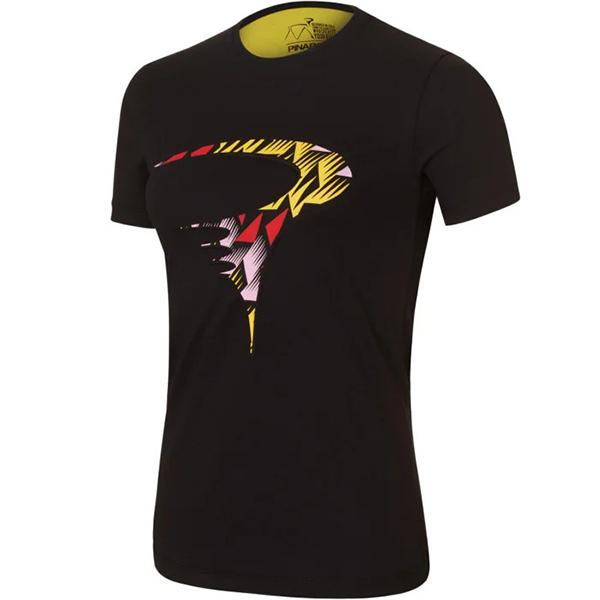 PINARELLO(ピナレロ)ART LOGO WOMAN(アートロゴ ウーマン)Tシャツ(ブラック)