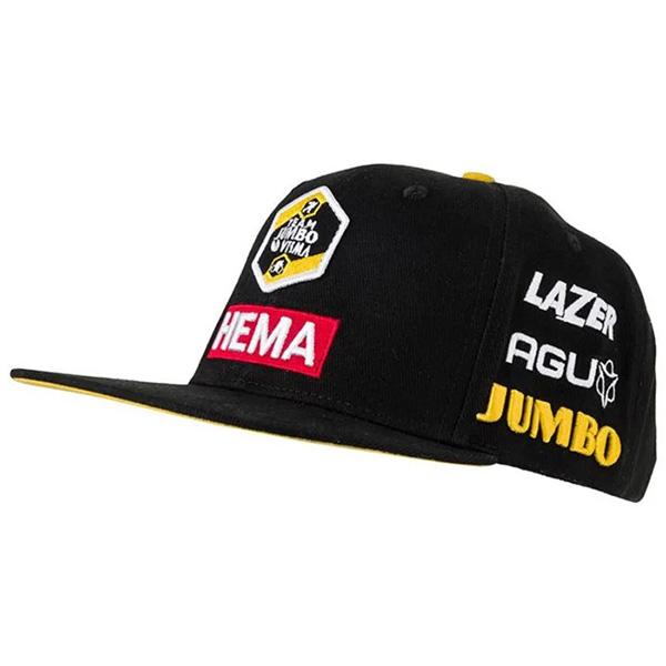 JUMBO VISMA(ユンボ ヴィスマ)PODIUM FLAT CAP(ポディウム フラットキャップ)(2021)