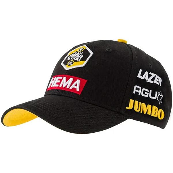 AGU(エージーユー)JUMBO VISMA(ユンボ ヴィスマ)PODIUM CAP(ポディウムキャップ)(2021)