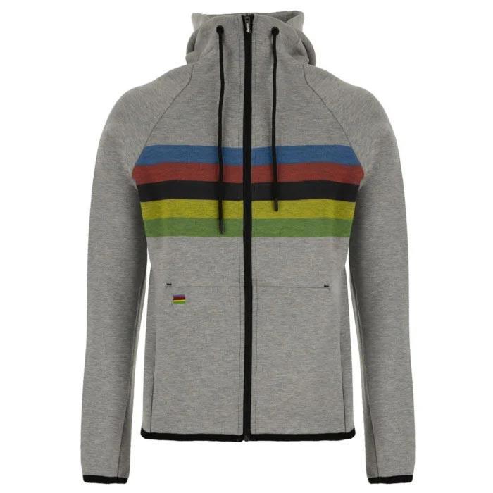 Santini(サンティーニ)UCI OFFICIAL SWEATSHIRT(ユーシーアイ オフィシャル スウェットシャツ)(グレー)