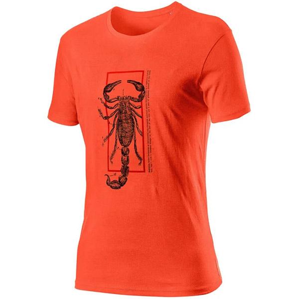 CASTELLI(カステリ)ロゴTシャツ(オレンジ)