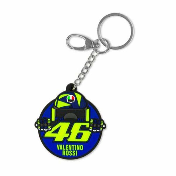 Valentino Rossi(バレンティーノロッシ)VR46オフィシャルキーホルダー