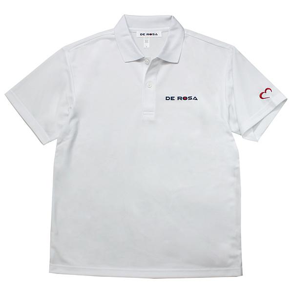 DE ROSA(デローザ)ドライポロシャツ(ホワイト)