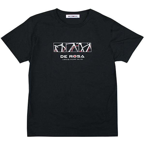 DE ROSA(デローザ)Tシャツ(ブラック)