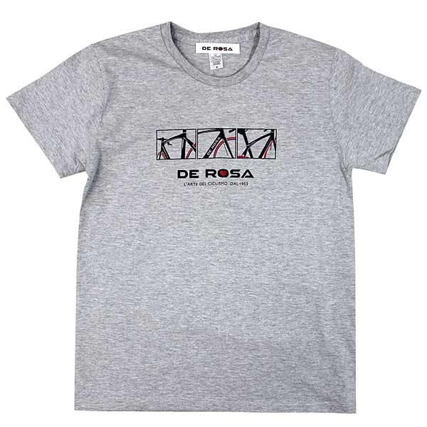 DE ROSA(デローザ)Tシャツ(グレー)