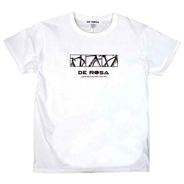 DE ROSA(デローザ)Tシャツ(ホワイト)