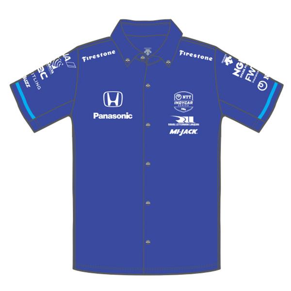 Takuma Sato(佐藤琢磨)ドライバーズシャツ(2021/ブルー)