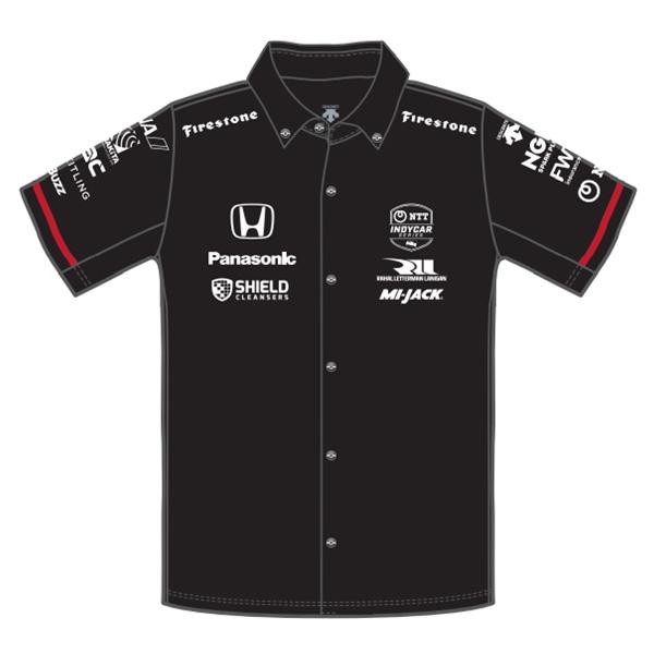Takuma Sato(佐藤琢磨)ドライバーズシャツ(2021/SHIELD仕様/ブラック)