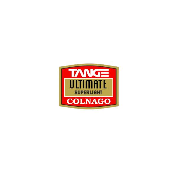 TANGE(タンゲ)ULTIMATE FRAME TUBING(アルティメイト フレームチュービング)ステッカー(COLNAGO(コルナゴ))