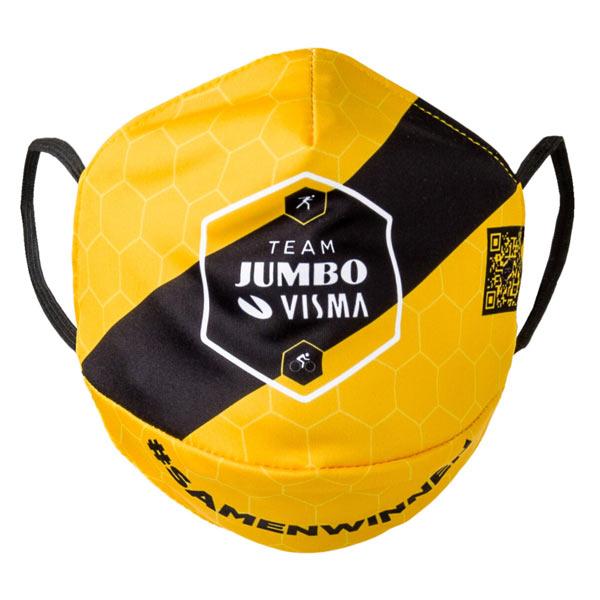 JUMBO VISMA(ユンボ ヴィスマ)FACE MASK(フェイスマスク)