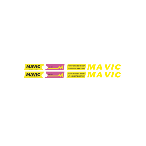 MAVIC(マヴィック)GEL 330リムステッカー