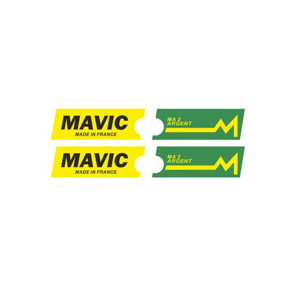 MAVIC(マヴィック)MA 2 ARGENT(アージェント)リムステッカー