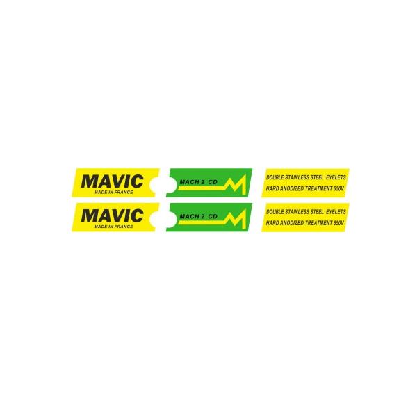 MAVIC(マヴィック) MACH(マッハ)2 CD リムステッカー