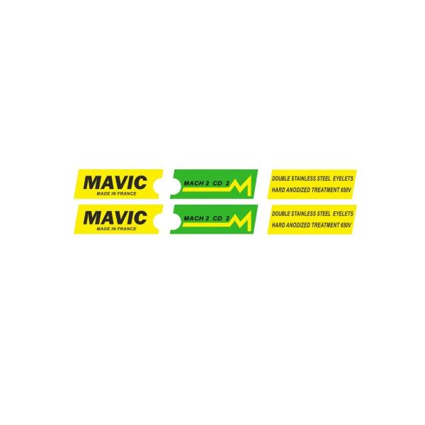 MAVIC(マヴィック) MACH(マッハ)2 CD 2 リムステッカー