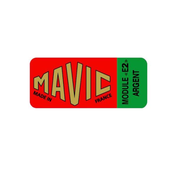 MAVIC(マヴィック)MODULE(モジュール)E2 ARGENT(アージェント)リムステッカー