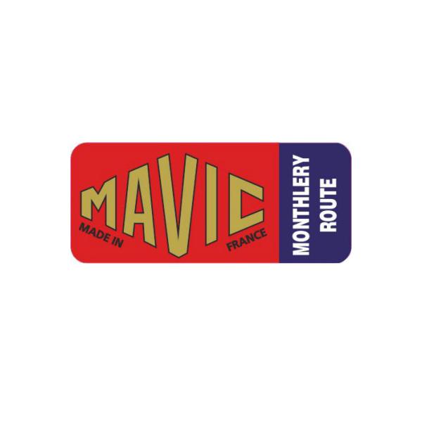 MAVIC(マヴィック)MONTHLERY ROUTE(モンテリールート)リムステッカー(ブルーラベル)