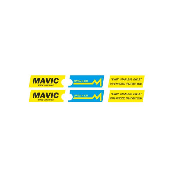MAVIC(マヴィック)OPEN 4 CDリムステッカー