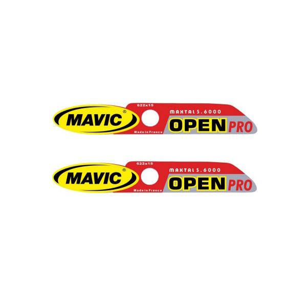 MAVIC(マヴィック)OPEN PROリムステッカー
