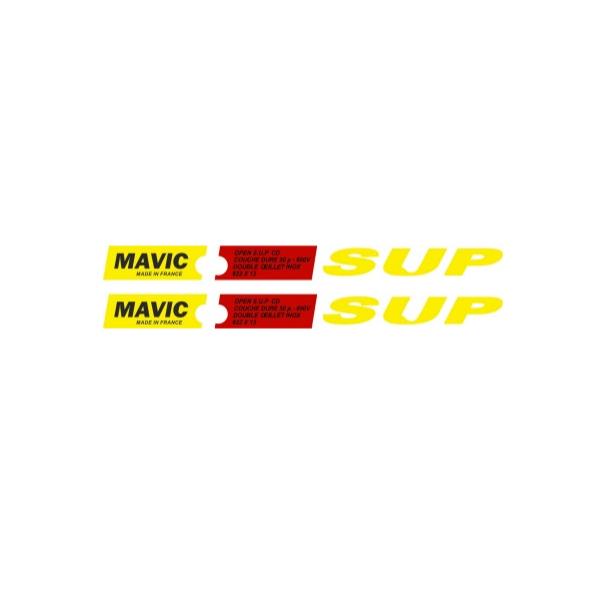 MAVIC(マヴィック)OPEN SUPリムステッカー
