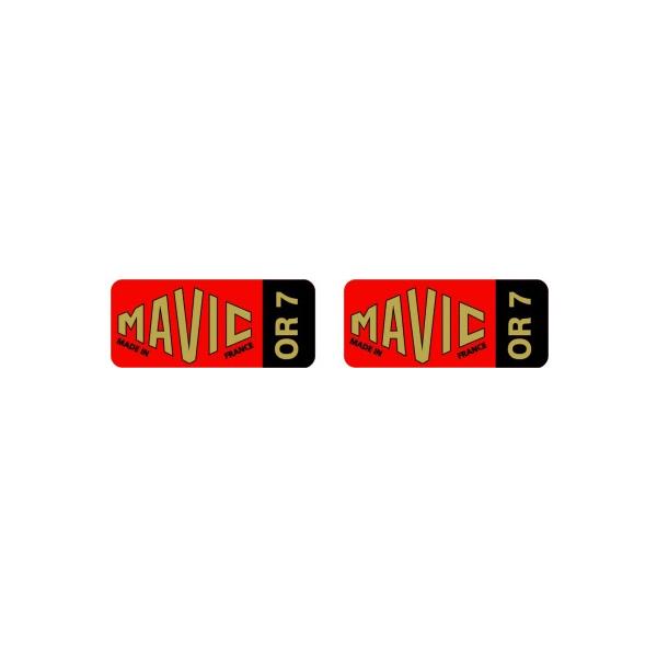 MAVIC(マヴィック)OR 7 リムステッカー