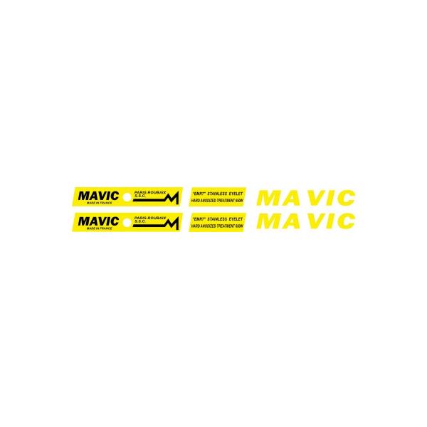 MAVIC(マヴィック)PARIS ROUBAIX(パリルーベ)SSCリムステッカー
