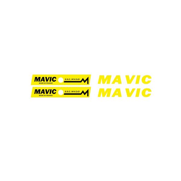 MAVIC(マヴィック)SSC No 4 CRDリムステッカー