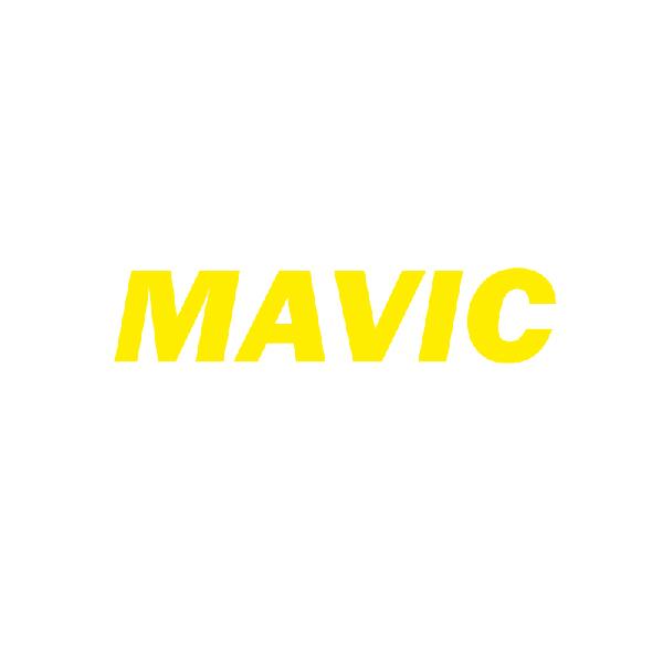 MAVIC(マヴィック)ロゴデカールステッカー(イエロー)