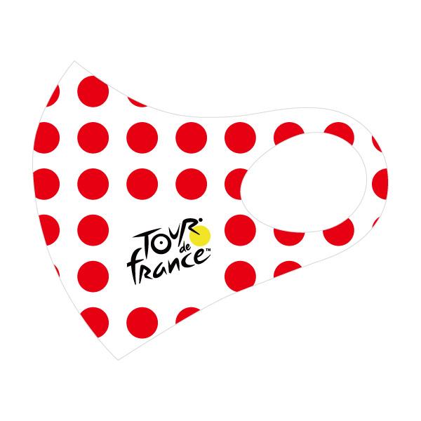TOUR de FRANCE(ツールドフランス)OFFICIAL MASK(オフィシャルマスク)(ポルカドット)