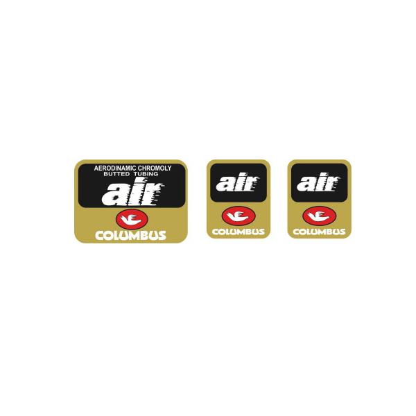 COLUMBUS(コロンバス)AIR(エア)シートチューブ&フロントフォークステッカーセット