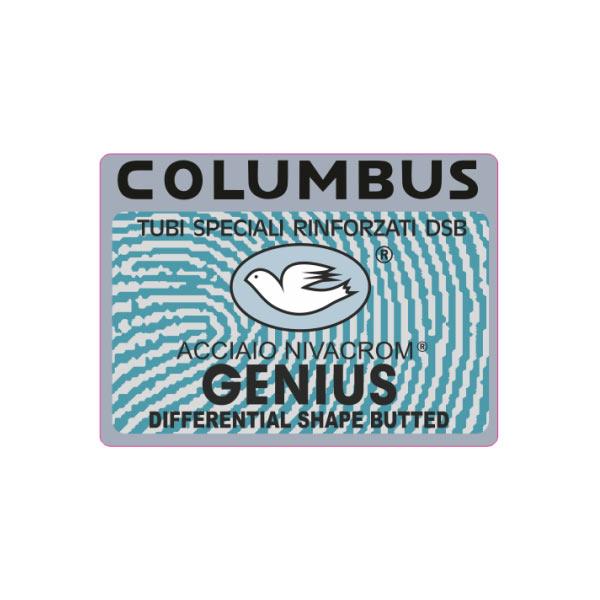 COLUMBUS(コロンバス)GENIUS(ジェニウス)ステッカー