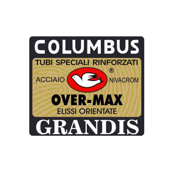 COLUMBUS(コロンバス)OVER-MAX(オーバーマックス)GRANDIS(グランディス)ステッカー