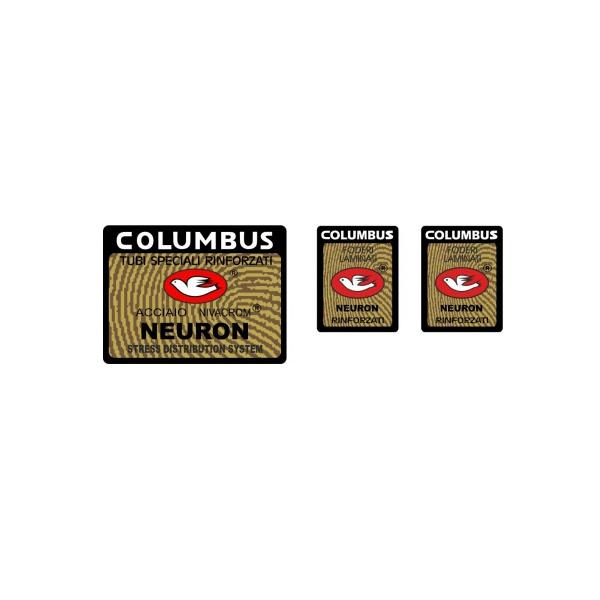 COLUMBUS(コロンバス)NEURON(ニューロン)シートチューブ&フロントフォークステッカーセット(Aデザイン)
