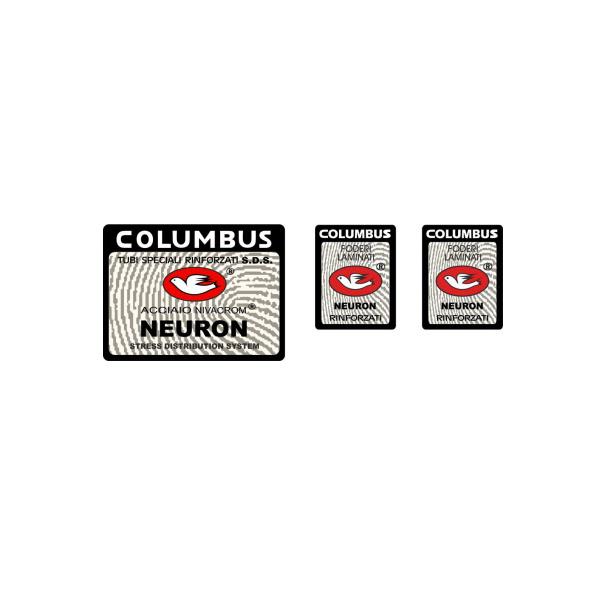 COLUMBUS(コロンバス)NEURON(ニューロン)シートチューブ&フロントフォークステッカーセット(Bデザイン)