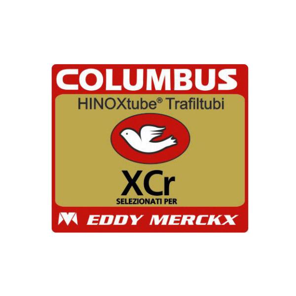 COLUMBUS(コロンバス)XCr(エックスシーアール)EDDY MERCKX(エディメルクス)シートチューブステッカー