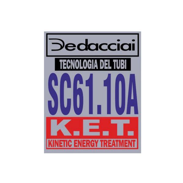 Dedacciai(デダチャイ)SC61.10Aフレームチュービングステッカー
